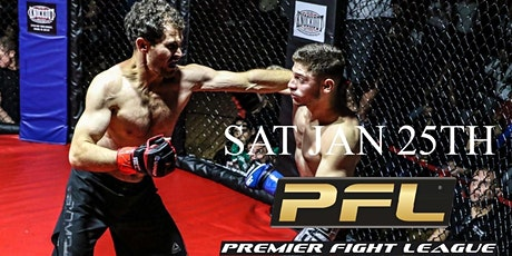 Premier Fight League 25 tickets