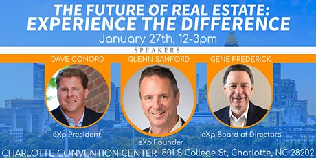 The Future of Real Estate:  Experience the Difference! tickets
