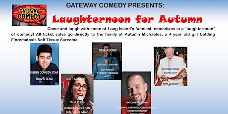Laughternoon for Autumn tickets