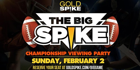 The Big Game Championship Viewing Party tickets