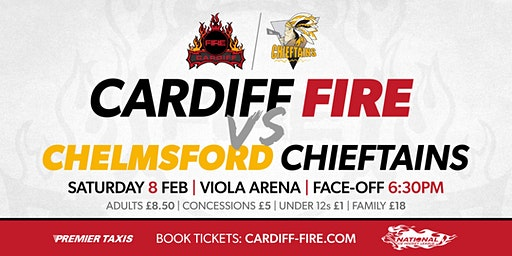 Cardiff Fire vs Chelmsford Chieftains