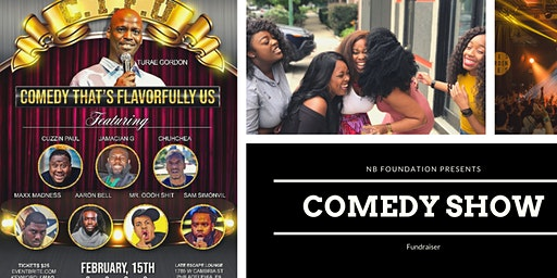 CTFU Charity comedy show (Comedy that's Flavorfully Us)