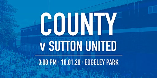 #StockportCounty vs Sutton United