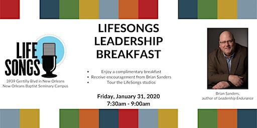 LifeSongs Leadership Breakfast with Brian Sanders