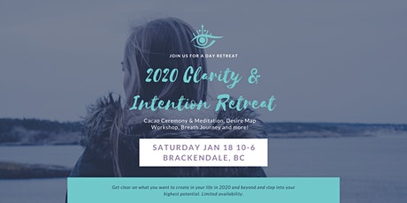 2020 Clarity and Intentions Retreat tickets