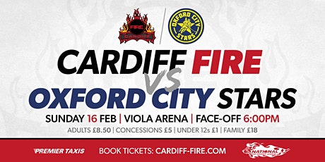 Cardiff Fire vs Oxford City Stars tickets