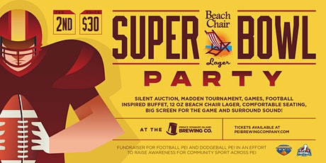 Beach Chair Lager Super Bowl Party tickets