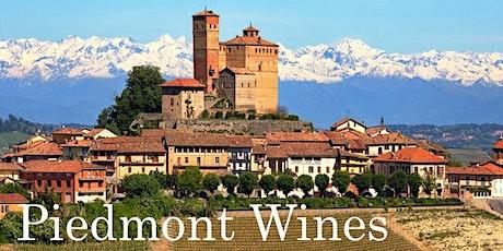 Piedmont Wines tickets