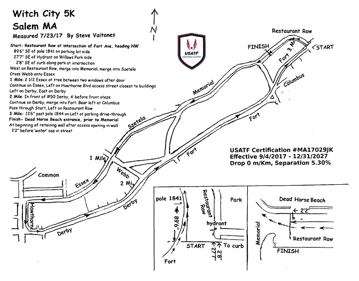 Witch City 5K Road Race Live (if permitted) and Virtual image