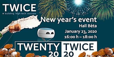 Nieuwjaarsborrel 2020 - Twice Eindhoven (Beta) tickets