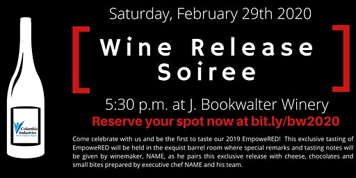 Columbia Industries Wine Release Soriee