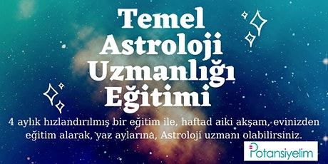 Temel Seviye Astroloji Uzmanlığı Eğitimi tickets