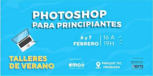 Taller de Verano: Photoshop para principiantes