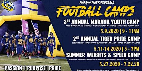 3rd Annual Marana Youth Camp tickets
