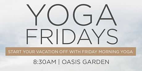 Yoga Fridays at the Shelborne South Beach tickets