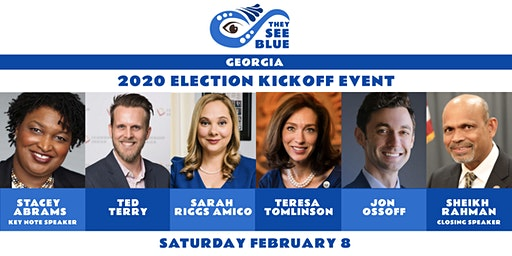 They See Blue Georgia 2020 Election Kickoff