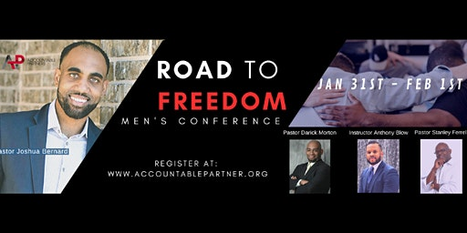 2020 ROAD TO FREEDOM MENS CONFERENCE