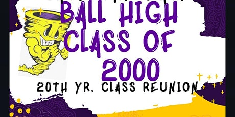 BHS Class of 2000 20th Year Reunion: Take Us Back...Twenty Years Later tickets