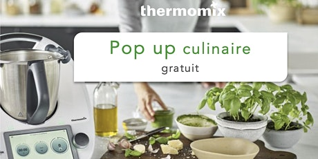Pop-up! culinaire Thermomix® GRATUIT// Coaticook billets