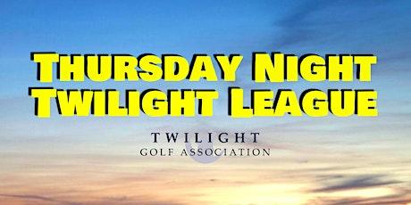 Thursday Twilight League at Compass Pointe Golf Course tickets