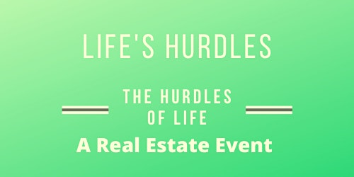 """Life's Hurdles """"How  To Keep Your Home and Avoid Foreclosure"""""""