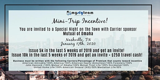 January Mini-Carrier Incentive Event