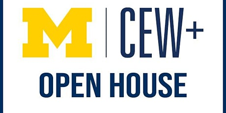 CEW+ Open House - Welcoming Transfer and Nontraditional Students tickets