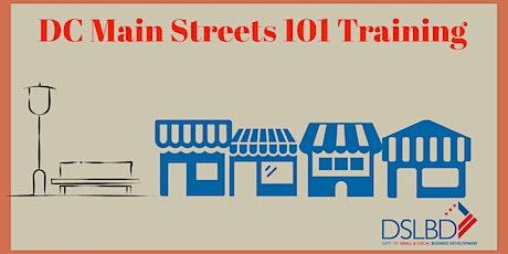 DC Main Streets 101 Training tickets