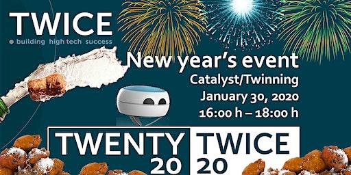 Nieuwjaarsborrel 2020 - Twice Eindhoven (Catalyst)