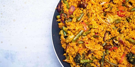 Paella and Mediterranean Cuisine - Cooking Class by Cozymeal™ tickets