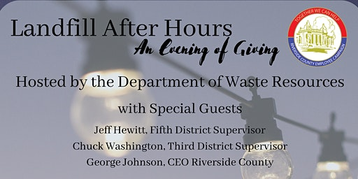Landfill After Hours: An Evening of Giving