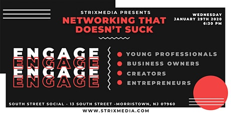 Networking That Doesn't Suck | Engage Networking Event tickets