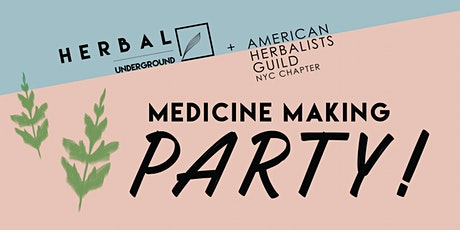 About Medicinal Broth: An Herbal Underground Medicine Making Party tickets
