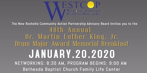 New Rochelle CAP - 48th Annual Dr. Martin Luther King ,Jr. Breakfast