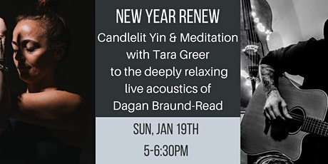 Candlelit Yin & Meditation with Live Acoustics tickets