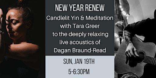 Candlelit Yin & Meditation with Live Acoustics