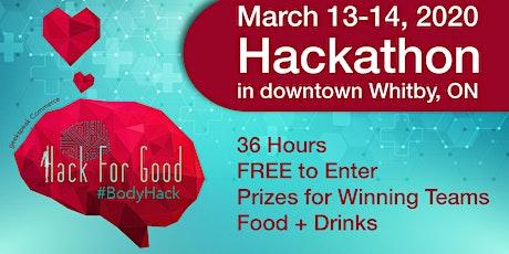 Hack For Good 2020 - Body Hack Hackathon tickets