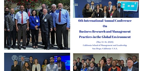 6th California Annual International Conference On Management and Leadership Practices tickets