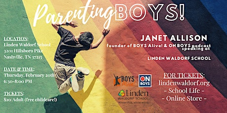 BOYS Alive!  An evening with Janet Allison tickets