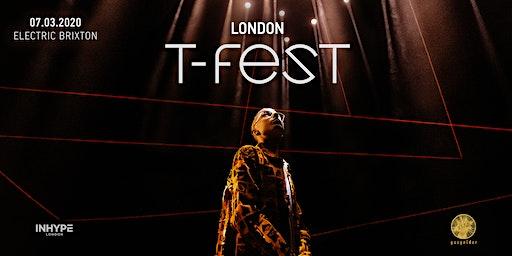 T-Fest | Большой Концерт в Лондоне