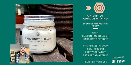 A Night of Candle Making with Hard Knot Designs - Powered by Arrow tickets