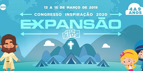 CONGRESSO INSPIRAÇÃO KIDS 2020 ingressos