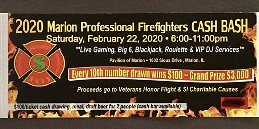 2020 Marion Professional Firefighters Cash Bash