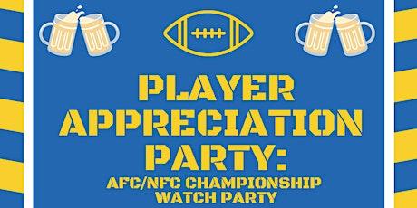 Player Appreciation Party tickets