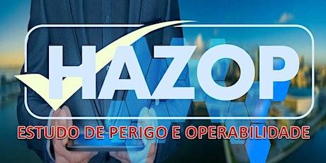 HAZOP - ESTUDO DE PERIGO E OPERABILIDADE ingressos
