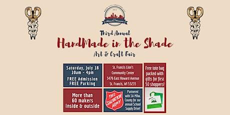 Third Annual HandMade in the Shade tickets