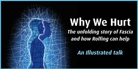 Why We Hurt - The unfolding story of Fascia and how Rolfing can help tickets