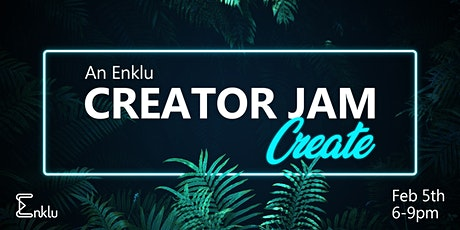 Enklu's Creator Jam - Create AR Together tickets