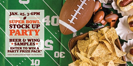 Super Bowl Stock Up Party tickets