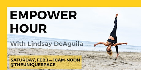 Empower Hour With Lindsay DeAguila tickets